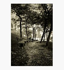 Afternoon in the Park Photographic Print