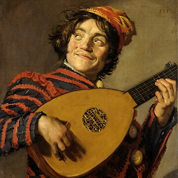 "Frans Hals ""The Lute Player"" by ALD1"