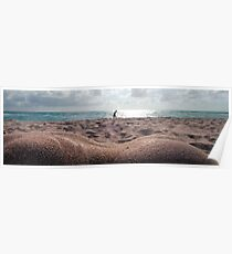 Sand Dunes, a Nude by Chris Maher #8660-RCB Poster