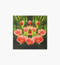 Tulips  Art Board Print