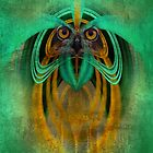 Owl Abstract by CarolM
