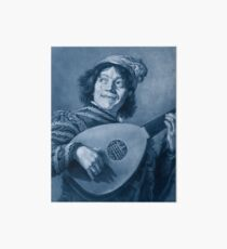 "Frans Hals ""The Lute Player"" edited Art Board"