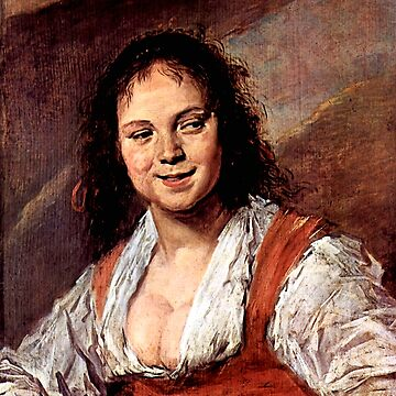 "Frans Hals ""Young woman (The Gypsy Girl)"" by ALD1"