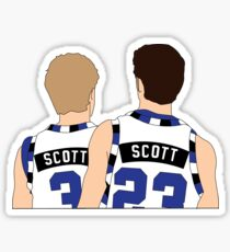 Scott Brothers Grafik One Tree Hill Sticker