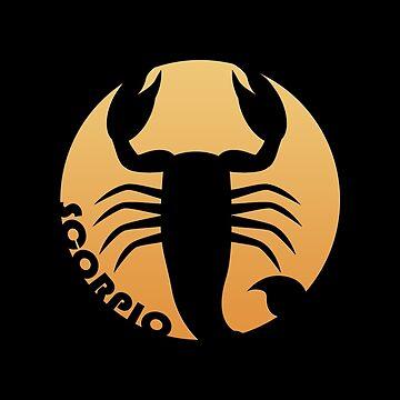Scorpio Zodiac Sign by peculiardesign
