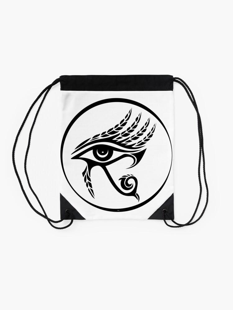 Alternative Ansicht von Auge des Horus Turnbeutel