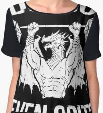 Do You Even Crit? - Ancient Swole'd Dragon Chiffon Top