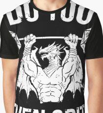 Do You Even Crit? - Ancient Swole'd Dragon Graphic T-Shirt