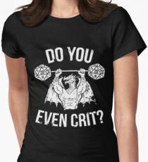 Machst du sogar Krit? - Ancient Swole'd Dragon Tailliertes T-Shirt für Frauen