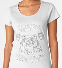 Do You Even Crit? - Ancient Swole'd Dragon Premium Scoop T-Shirt