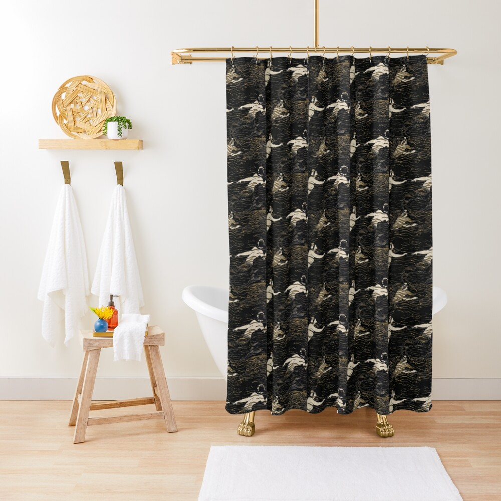 River Nymphs Shower Curtain