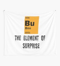Boo The Element of Surprise Wall Tapestry