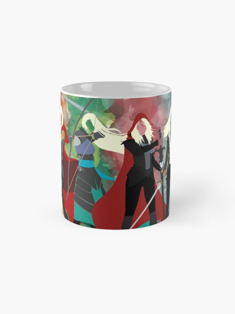Alternate view of Throne of Glass Series Watercolor Mug