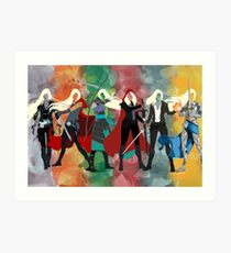 Throne of Glass Series Watercolor Art Print