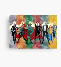 Throne of Glass Series Watercolor Canvas Print