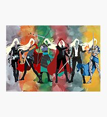 Throne of Glass Series Watercolor Photographic Print