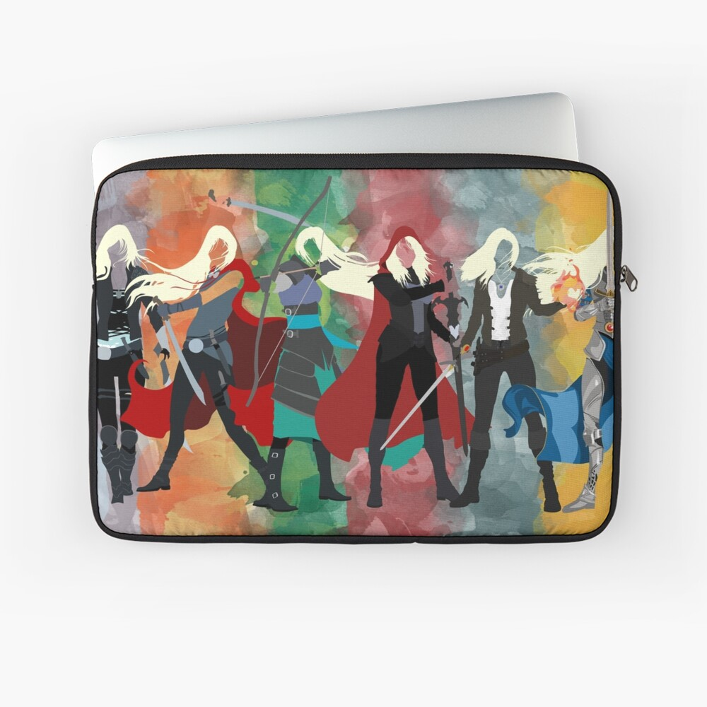 Throne of Glass Series Watercolor Laptop Sleeve