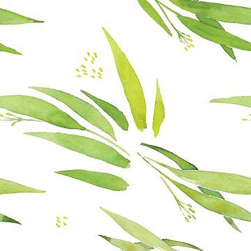 Luftige Grüns von GrybDesigns