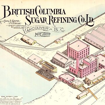 British Columbia Sugar Refining Co. Ld. Vancouver B.C., May 1899 by FOVCA