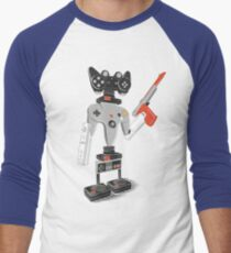 ControlBot4000 Men's Baseball ¾ T-Shirt