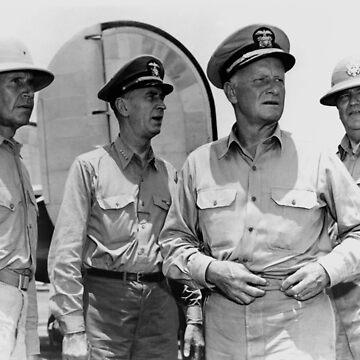 Senior US Naval Officers 1944 - Nimitz, King, Etc. by warishellstore