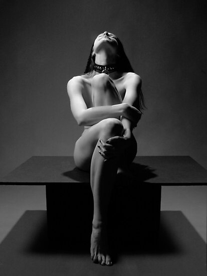 """""""My Collar"""" a Nude by Chris Maher #7457 by Chris Maher"""