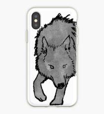 Smoky Wolf iPhone Case