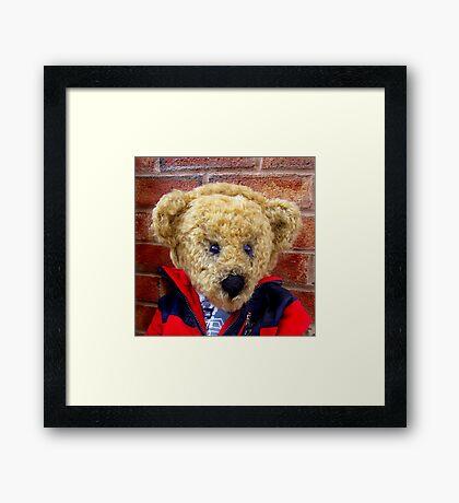 Whisper The Listening Bear™ Framed Print