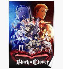 Black Clover Poster Poster