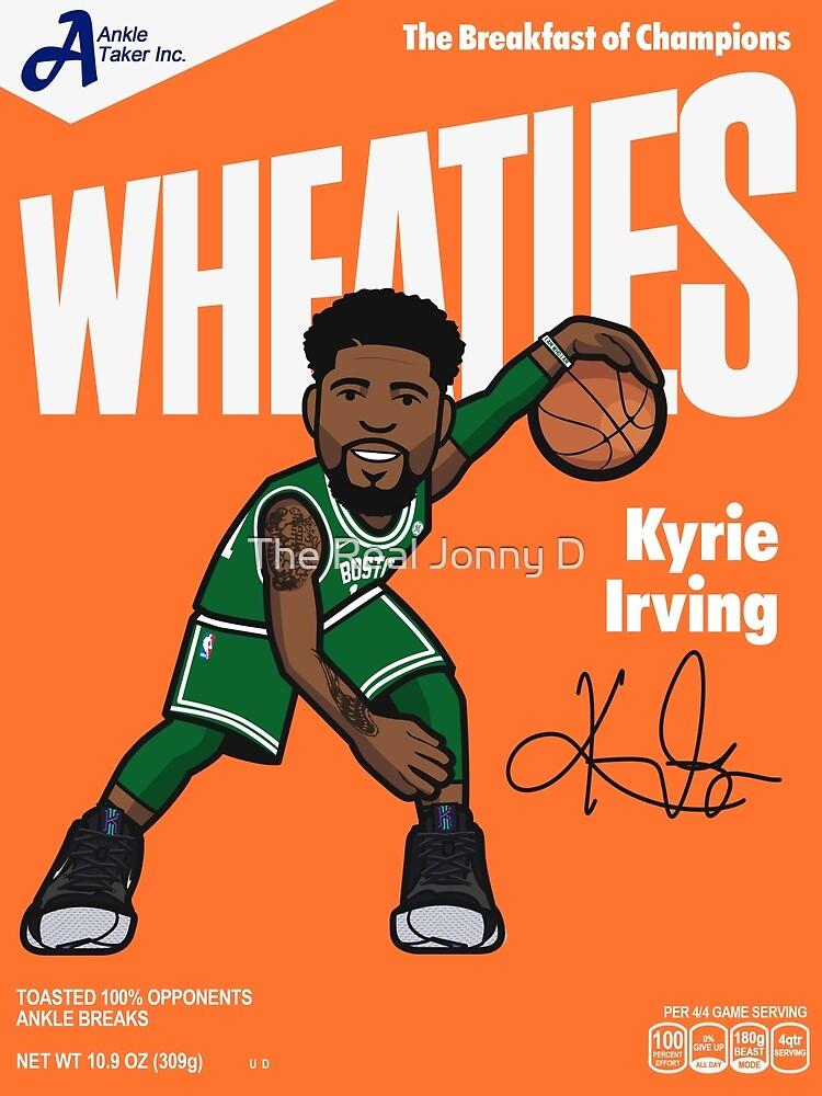 meet e225e 6fd17 Kyrie Irving Wheaties | Canvas Print