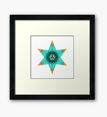 Merkaba Star Framed Print