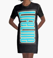 Lifeline Graphic T-Shirt Dress