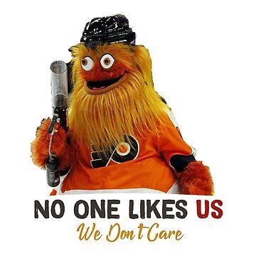 No one likes us we don't care gritty Philadelphia hockey mascot shirt by tessBuzz