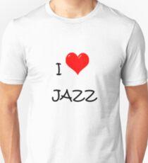 I LOVE JAZZ. T-Shirt