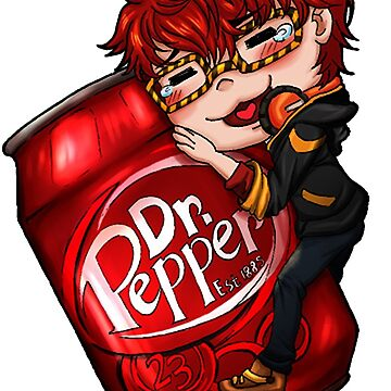 Mystic Messenger - 707 Loves Dr. Pepper by spacespud