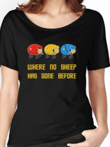 Where no Sheep Has Gone Before Women's Relaxed Fit T-Shirt