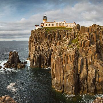 Neist Point Lighthouse by domcia