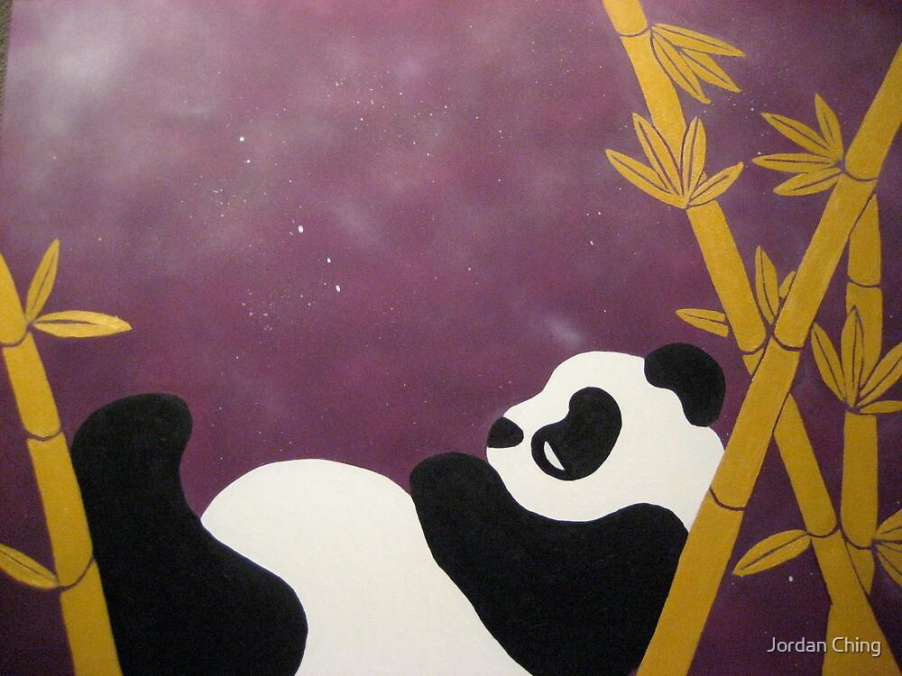 Relaxin' Panda by Jordan Ching