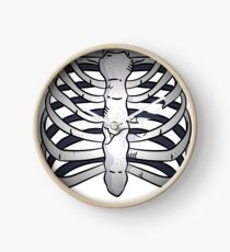 Rippen Design  Uhr