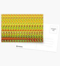 3D Stereogram - Happy Birthday Postcards
