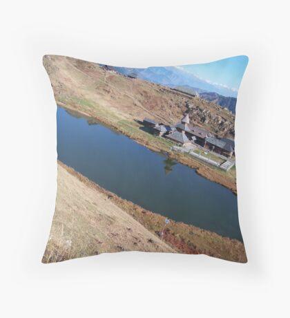 Heaven - Parashar Lake - 2 Throw Pillow