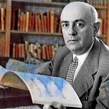 Theodor Adorno - stylized by jaxxmc