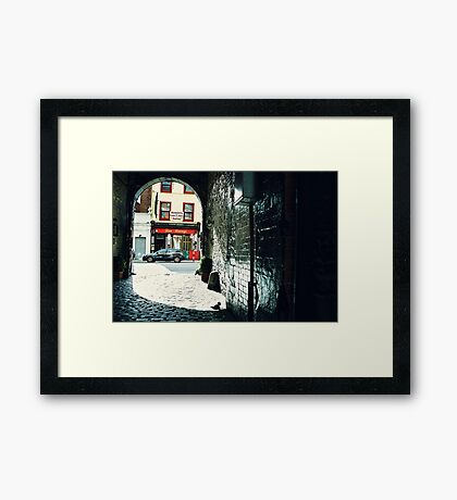 Dan Lowery's Framed Print