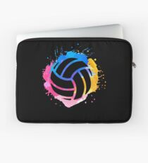 Volleyball Gift Player Coach Mom Daughter School Laptop Sleeve