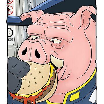 Pork Burger by davecharlton