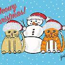 Fat Kitties Christmas by Judy Boyle