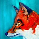 Red Fox by Angela  Burman