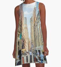 Wall Street A-Line Dress
