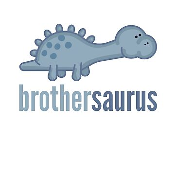 Brothersaurus Shirt Family Dinosaur Shirt Set by DoggyStyles