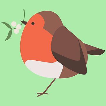 Little Robin by BenFarr